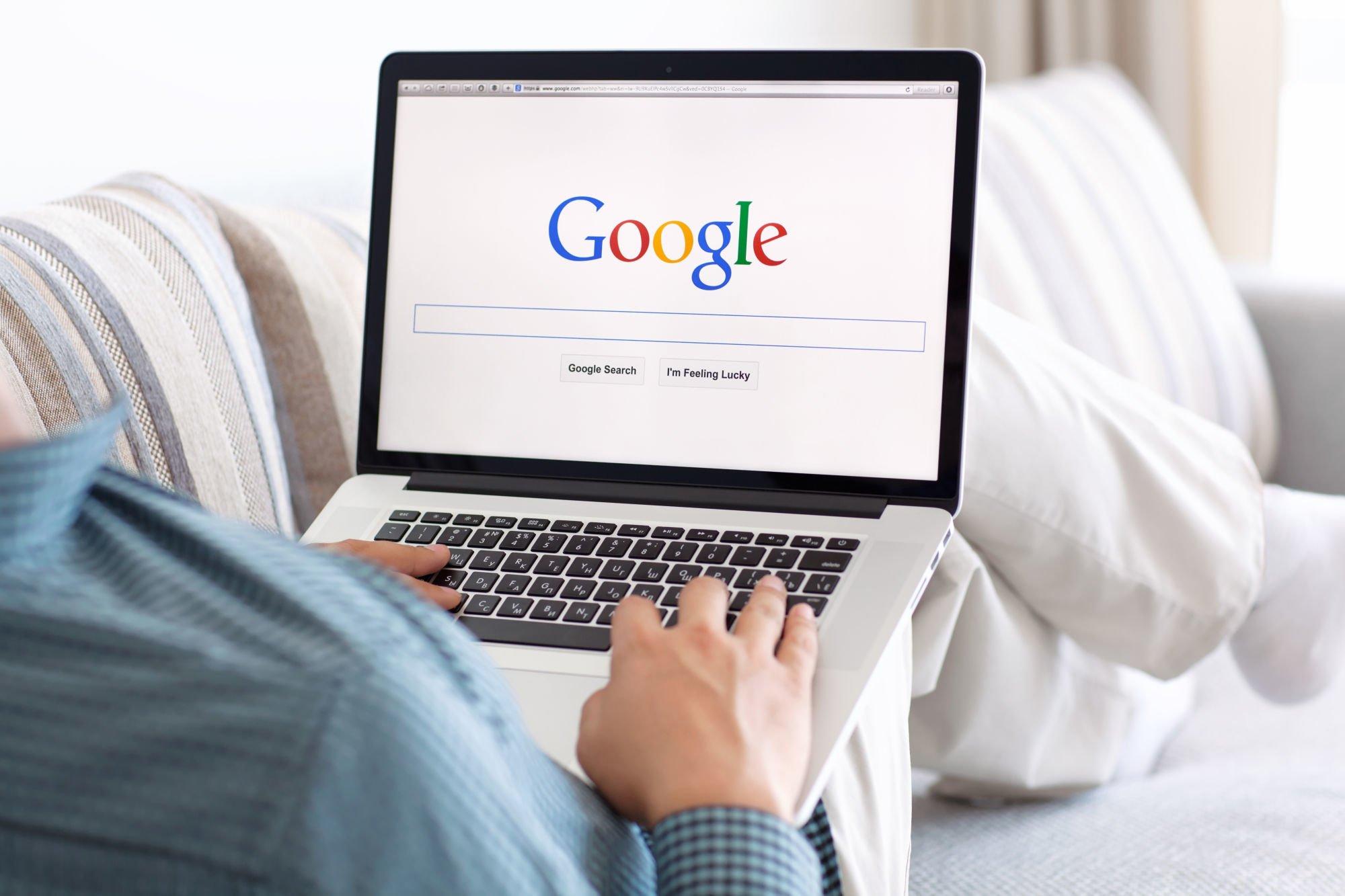 Búsqueda en google SEO