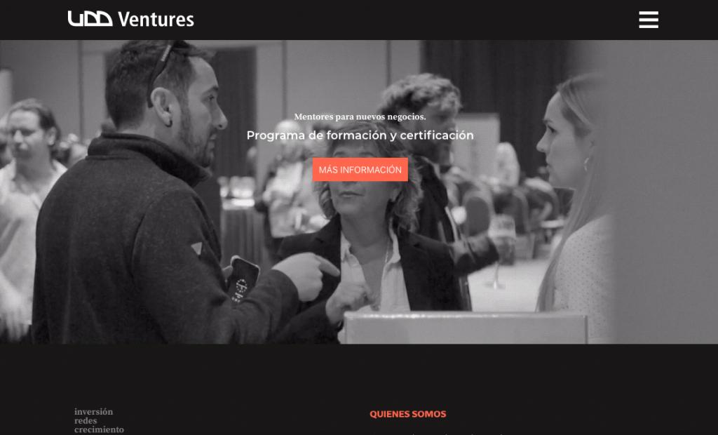 Diseño de sitio web por Cebra para UDD